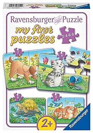 Ravensburger Kinderpuzzle - Niedliche Haustiere