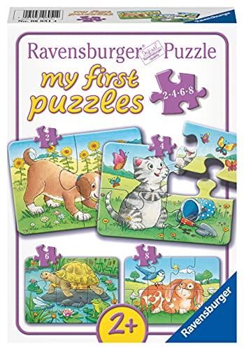 Ravensburger Kinderpuzzle - 06951 Niedliche Haustiere - my first puzzle mit...