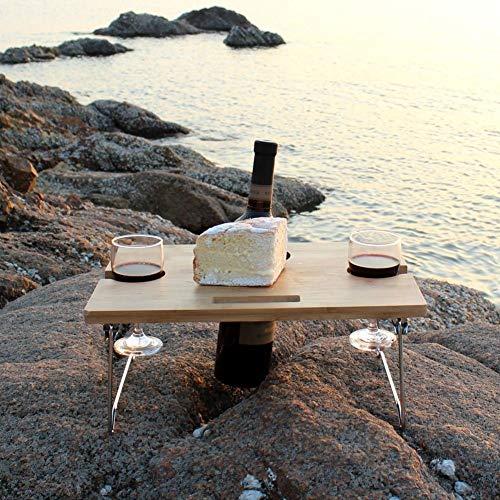 テーブル折り畳みミニ2人用ピクニックビーチベードキャンプアウトドア丈夫軽いコンパクト