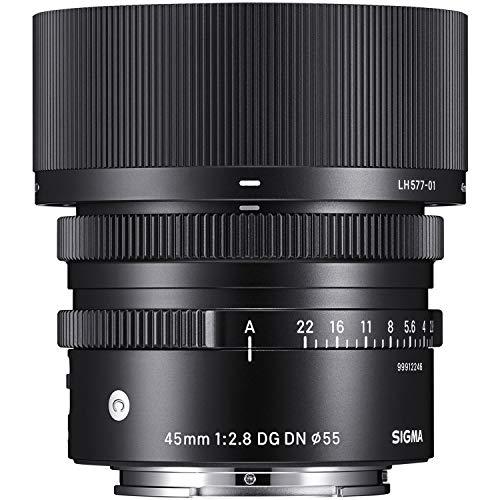 SIGMA 45mm F2.8 DG DN | Contemporary C019 | Sony Eマウント | Full-Size/Large-Format ミラーレス専用