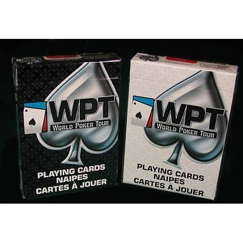 WPT Mazzo di Carte World Poker Tour Qualità Triplex - dorso bianco - Card Deck Word Poker Tour Quality Triplex - white back - Carte da gioco - Giochi di Prestigio e Magia