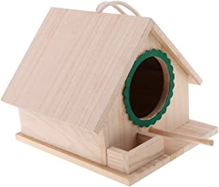 Flameer DIY Bird House Kit for Kids and Adults - Easy Assembly, Birdhouse Kit - Wooden Birdhouses, Green
