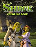 Shrek Coloring Book: GREAT Cartoon Coloring Book for Any Fan with 110 GIANT PAGES and HIGH QUALITY IMAGES!