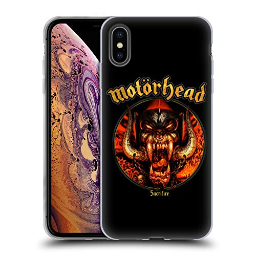 Head Case Designs Oficial Motorhead Sacrificio Portadas de Álbumes Carcasa de Gel de Silicona Compatible con Apple iPhone XS MAX