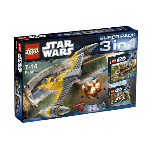 LEGO 66396 Star Wars 3 in 1 Super Pack Collection