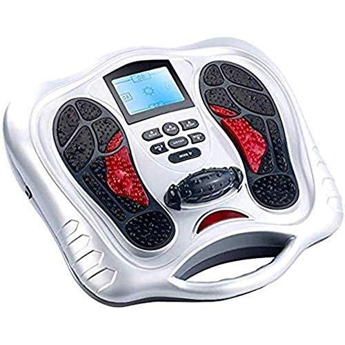 FYHpet Elektrischer Fuß Massagers Elektromagnetische FußMassager Füße Massage & Body-Therapie-Maschine 25 Massage Modes4 Körperelektrode PadsRemote Steuer