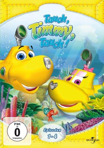 Tauch, Timmy, Tauch - Episoden 01-04 [Alemania] [DVD]