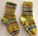 Warme selbstgestrickte Socken für Kinder | Bunte Wollsocken | Handgestrickt | für Mädchen und Jungen | Babysocken