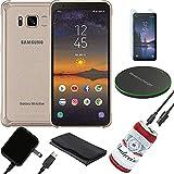 Samsung Galaxy S8 Active 64GB Travel, Outdoor Bundle, Long Battery Life kit G892A (Renewed)