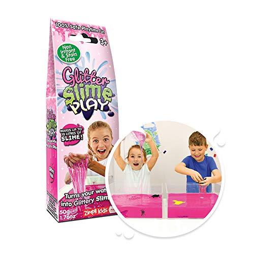 Glitter Slime Play Pink, für bis zu 10 Liter Schleim, sensorisches und unordentliches Spielzeug für Kinder, zertifiziert biologisch abbaubar, 5919
