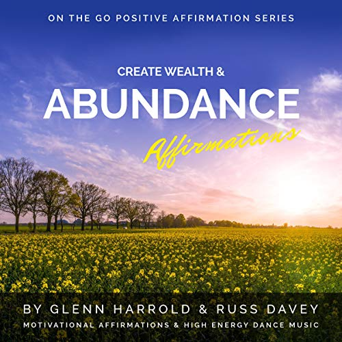 Create Wealth & Abundance Affirmations audiobook cover art