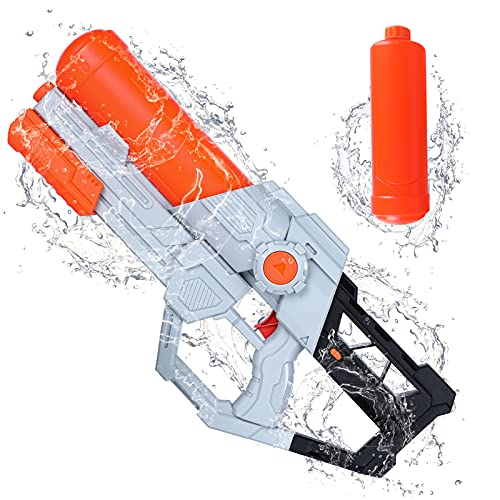 Tinleon Water Gun for Adults Kids: Water Blaster Super Squirt Gun 1720CC High-Capacity Shoots up to 32ft Long Shooting Range for Kids Adults Boys Girls, Beach Party and Summer Swimming Pool