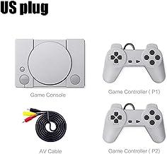 Dreameryoly Console de jeu rétro Double Battle Console de jeu classique PS1 Mini Home 620 à 8 bits Jeu d'action Système de...