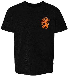 Dutch Soccer Retro National Team Holland Costume Youth Kids Girl Boy T-Shirt