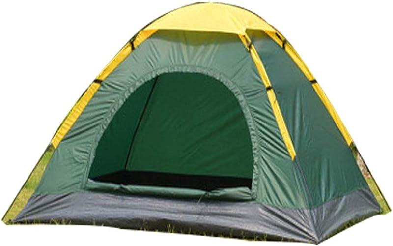 LDPB Tente de Camping familiale, Tente portable de Sac à Dos Anti-Moustique Haute densité pour l'isolation Thermique et Thermique, Tente de Camping en Plein air à Couche Unique, 200 x 160 x 120 cm