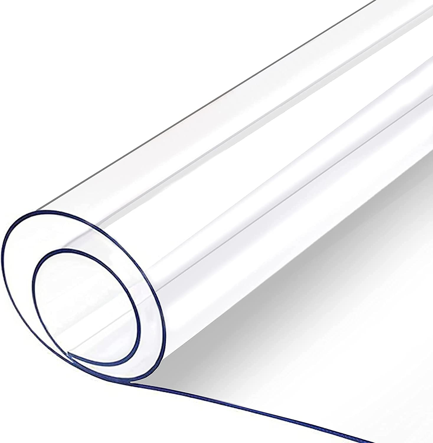 1.5mm Thick Clear Table Cover PVC Protector Desk SEAL limited product Pad Mat Sale price
