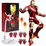 ZT 10th Anniversary 7 Inches Deluxe Collector Iron Man MK3 Action Figures