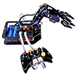 HamiltonBuhl RBA18 STEAM Robo-Arm Kit for Arduino - Programmable 4-Axis Robot Arm, Suitable for Ages...