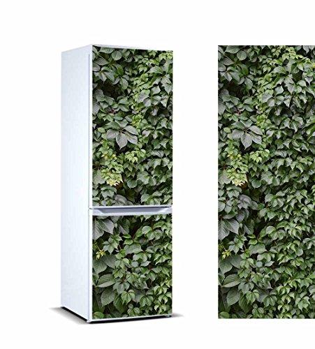 Pegatinas 3D Vinilo para Frigorifico Hojas de Hiedra Verde | Varias Medidas 185x70cm | Adhesivo Resistente y de Fácil Aplicación | Pegatina Adhesiva Decorativa de Diseño Elegante