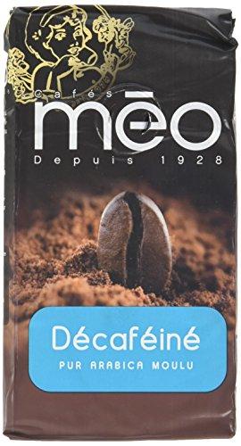 Méo Décaféiné Bleu Moulu 500 g - Lot de 5