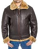 A to Z Leather Chaqueta para Hombre 100% Piel de Oveja B3 Volando ejército de EE. UU