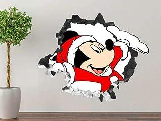ملصق حائط بطبعة ميكي ماوس