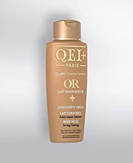 QEI+ Paris OR Quality Extreme Intense Innovative Strong Toning Milk
