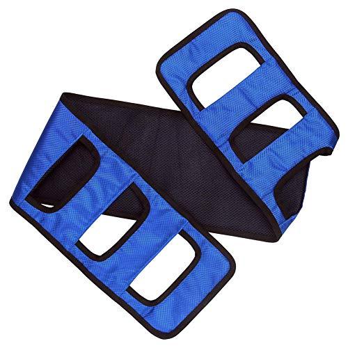 XER Cinta de Transferencia Paciente Ascensor Honda Paciente Cuidado La Seguridad Movilidad SIDA Equipo Enfermería Paso Cinturón para Mayor Discapacitado,Azul