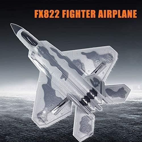 Ycco Anfänger Mini Segelflugzeug RC F22 F22 Raptor Modell Spielzeug Drone EPP RC Flugzeug RTF Kinder F22 Spielzeug Jet Kampfdrohne Flugzeug-Modell-Hubschrauber Weihnachten besten Geschenke for Jungen-