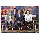LDTSWES® Puzzle One Direction British Band Adultos Rompecabezas, Rompecabezas de Madera, para Adultos Juegos para niños Puzzle 1000 Piezas