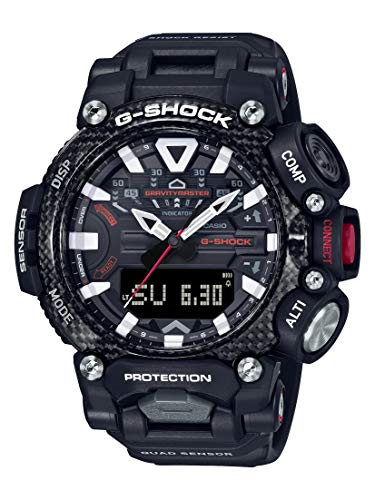 G-Shock Men's GRB200-1A Gravity Master Watch, Black, One Size
