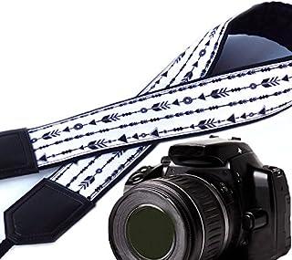 حزام كاميرا على شكل أسهم حزام كاميرا DSLR/SLR اكسسوارات كاميرا الصور. حزام كاميرا مبطن. حزام كاميرا ابيض واسود من ان تي بر...