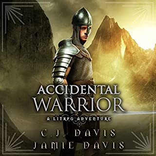 Accidental Warrior audiobook cover art