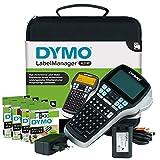 Dymo LabelManager 420P Kit Etichettatrice Portatile Ricaricabile | Stampante per Etichette con Tastiera ABC con Custodia e 4 Nastri per Etichette D1