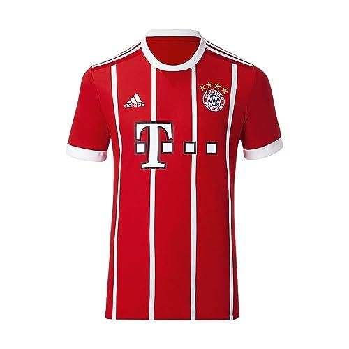 e6b3620edae adidas Men s FC Bayern Munich Home Soccer Stadium Jersey