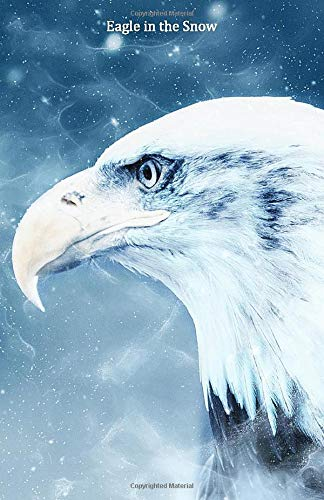 Eagle in the Snow: Portable lined Eagle in the Snow - Travel Journal to write in - 120 pages - 5.5'x8.5'