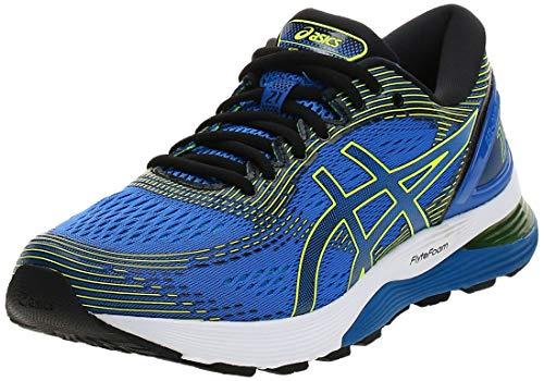 Asics Gel-Nimbus 21, Zapatillas de Running para Hombre, Azul (Illusion Blue/Black 400), 45 EU