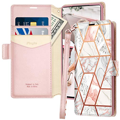 Ostop Wallet Case for Samsung Galaxy A70,for Girls Women Premium PU Leather Case with Card Holder and Kickstand Glitter Diamond Heart Flowers Floral Pattern 3D Butterfly Flip Cover,Pink