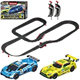 Carrera GO!!! 62522 Victory Lane Electric Powered Slot Car Racing Kids Toy Race Track Set Includes 2 Hand Controllers...