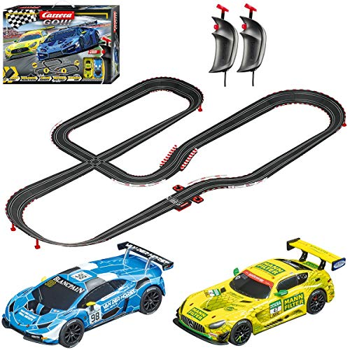 Carrera GO!!! 62522 Victory Lane Electric Powered Slot Car Racing Kids Toy Race Track Set