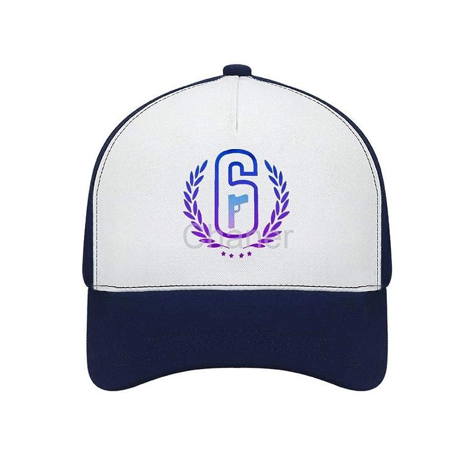 好きであるペーストファンドAdult Bent Rubber Baseball Cap特殊部隊 レインボーシックス Rainbow Six夏の紫外線保護を実行している男性の女性の軽量屋外スポーツキャップのための野球帽