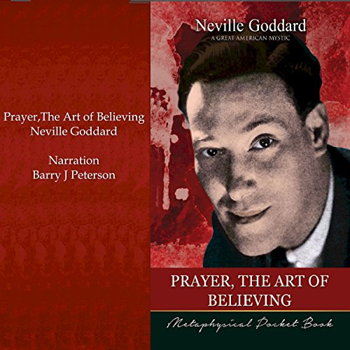 Prayer, the Art of Believing cover art