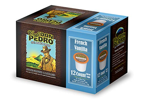 Cafe Don Pedro - 72 ct. French Vanilla Arabica Low Acid Coffee Pods