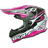 Wulf Sceptre Motocross Casco - Pink - Large