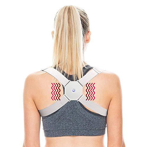 Haltungskorrektur Rückenstütze Rücken Geradehalter Schultergurt Haltungstrainer, Rückenstütze Verstellbare Schultergurt gegen Nacken und Schulterschmerzen für gerader Rücken für Herren, Kind, Damen