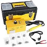 Beley, Kit di riparazione per paraurti dell'auto, con saldatrice a caldo in plastica, 220 V, con 700 graffette