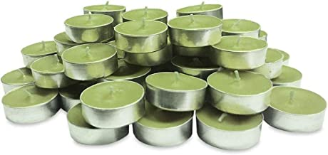 BUY4LESS Tea Light Scented Candle 50 pieces - Green