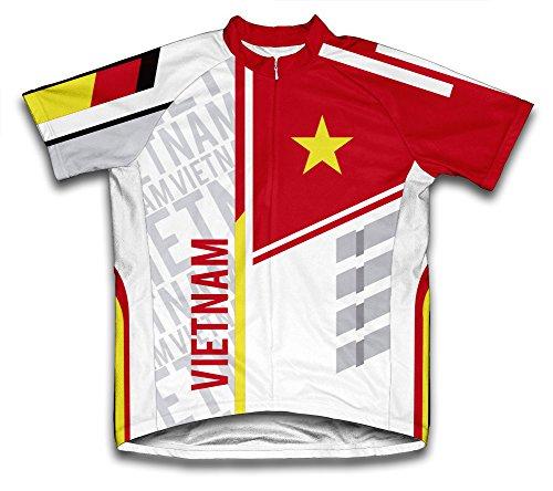 ScudoPro Vietnam Radsport Trikot mit kurzer Ärmel für Menner -