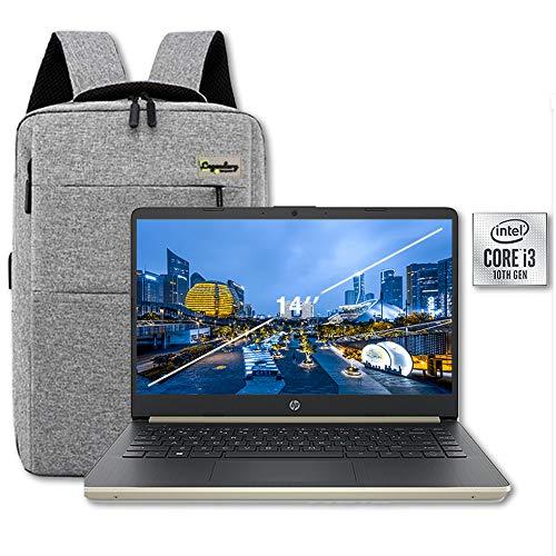 2020 HP 14 Inch HD Premium Laptop PC, 10th Gen Intel Quad...