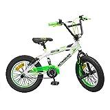GUIZMAX Vélo BMX 16 Pouces Enfant Freestyle